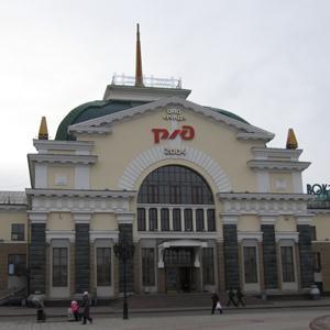 Железнодорожные вокзалы Калининской